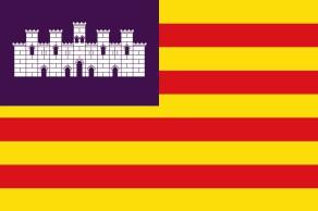 Флаг Болеарских островов