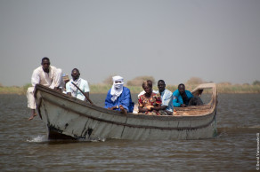 Чад, поездка на озеро Чад