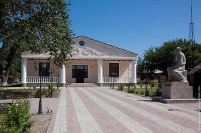 Чечня, станица Старогладовская, дом-музей Л.Н. Толстого