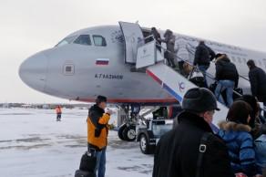 Перелет Красноярск-Москва