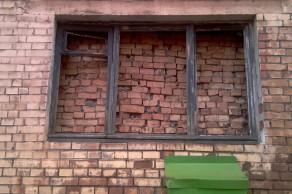 Окно в Норильске