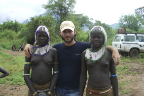 Эфиопия, Джинка, племя Мурси