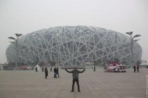 Птичье гнездо в Пекине